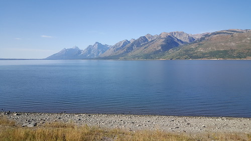 Jackson Lake in Grand Teton NP
