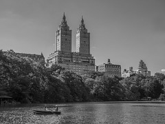 Boating on the Lake, Central Park NYC