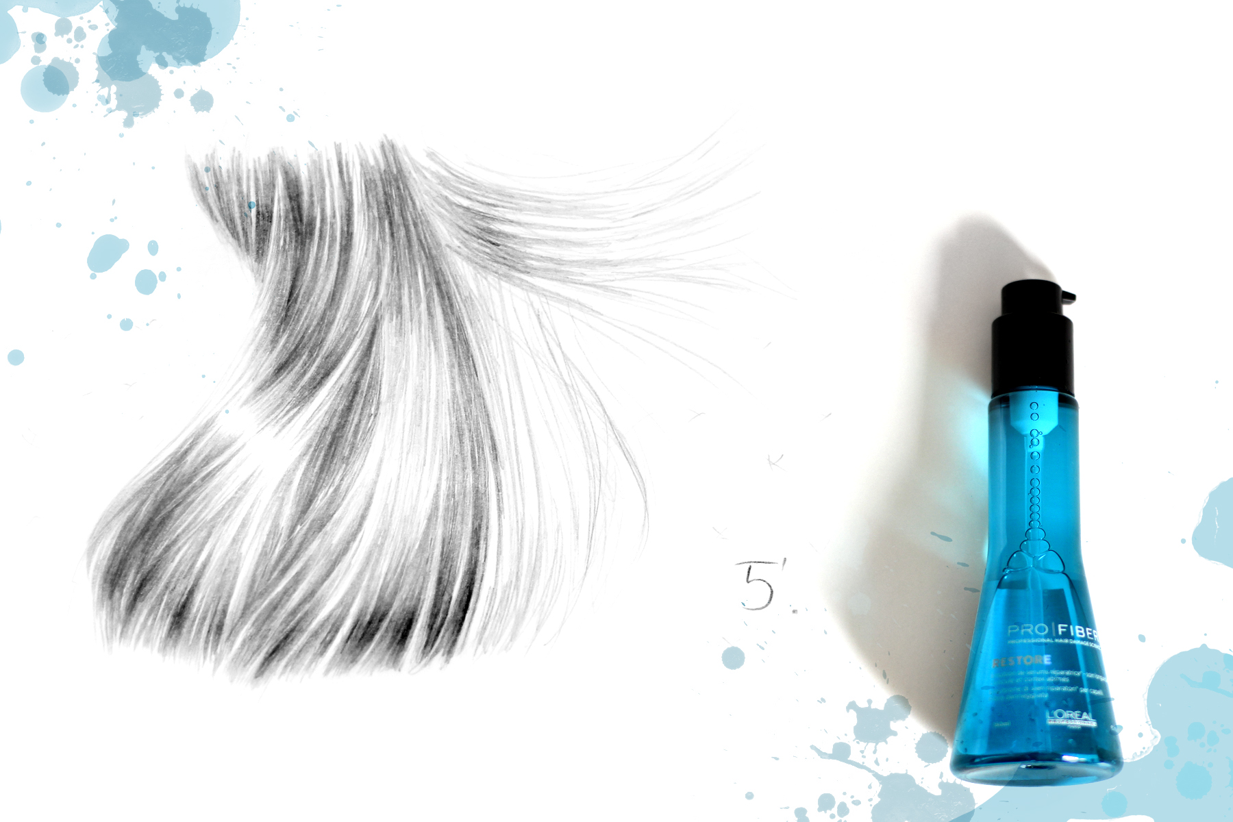 pro fiber l'oréal professionel hair treatment neue pflegerevolution beauty beautyblogger düsseldorf ricarda schernus blog illustration drawing art cats & dogs berlin 1