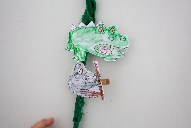 Jungle animal craft - reward system