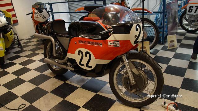 1968 Harley Davidson KR-TT Vintage Racer with Heritage