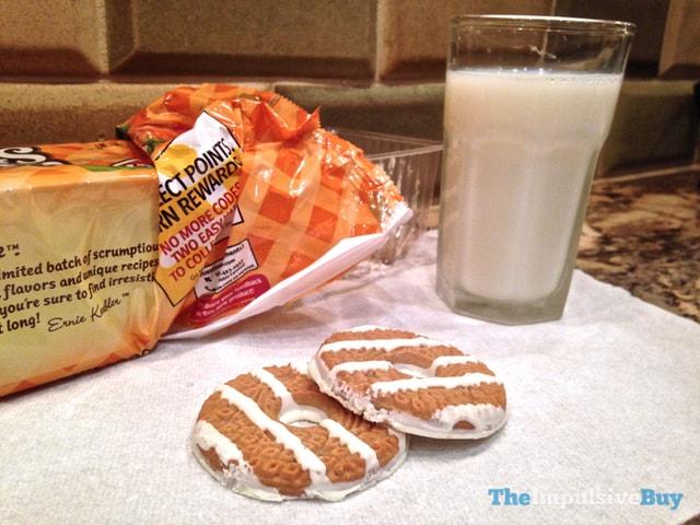 Keebler Limited Batch Pumpkin Spice Fudge Stripe Cookies 3
