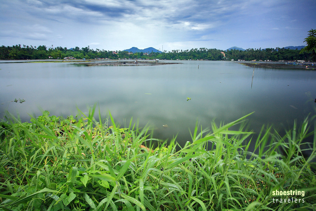 Lake Bunot after a thunderstorm