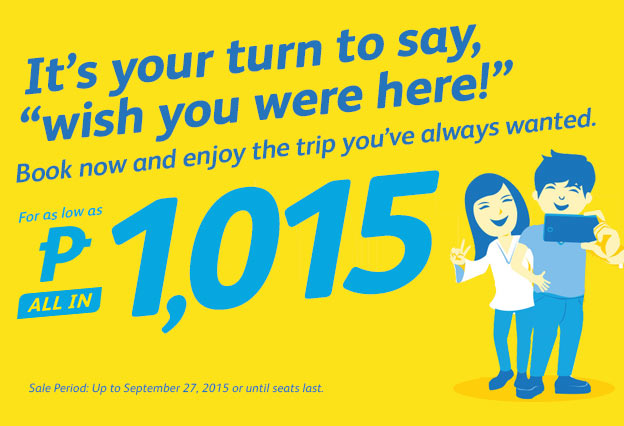 Cebu Pacific Promo September 23 2015
