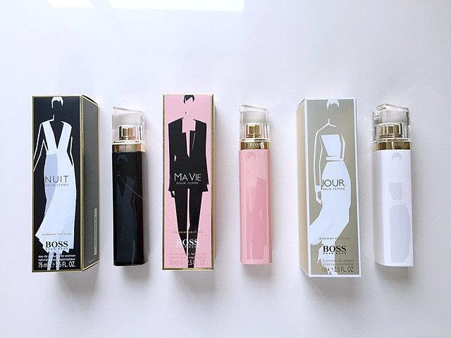 Hugo boss the scent & boss woman runway edition