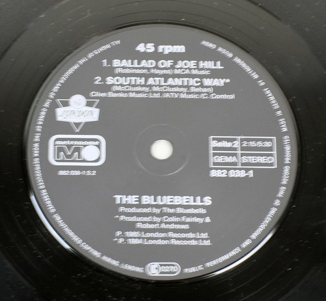 "BLUEBELLS ALL I AM (IS LOVING YOU 12"" MAXI-SINGLE VINYL"