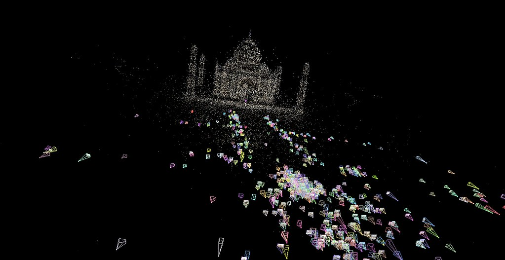 Reconstructing the Taj Mahal