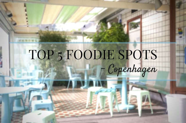 Top 5 Foodie Spots blog title image