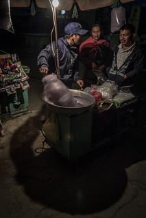 El vendedor de algodones