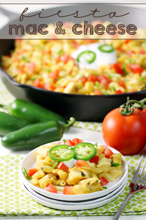 Spice up dinner with this Fiesta Mac & Cheese! Easy dinner idea for those hectic nights! #LiquidGold #ad