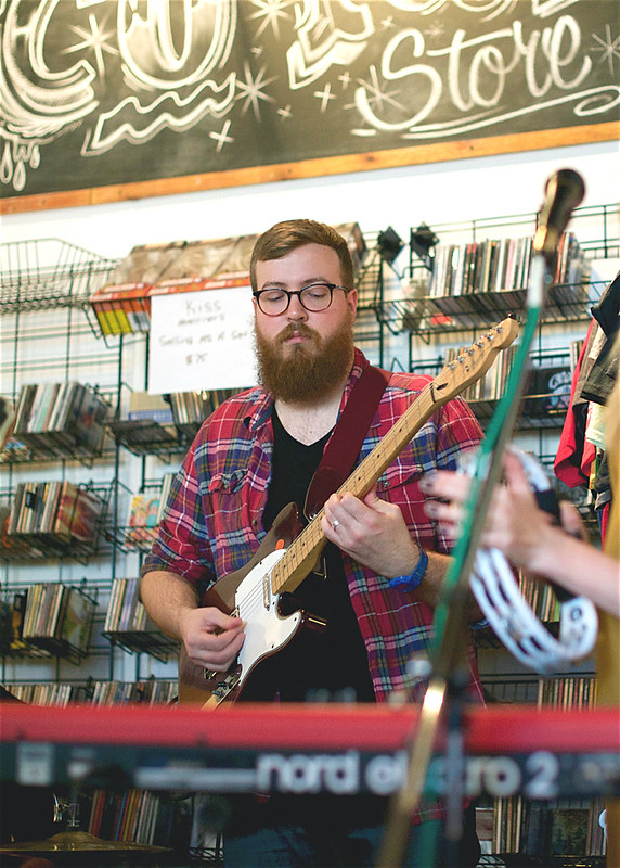 Scarlet Tanager @ Music Record Shop