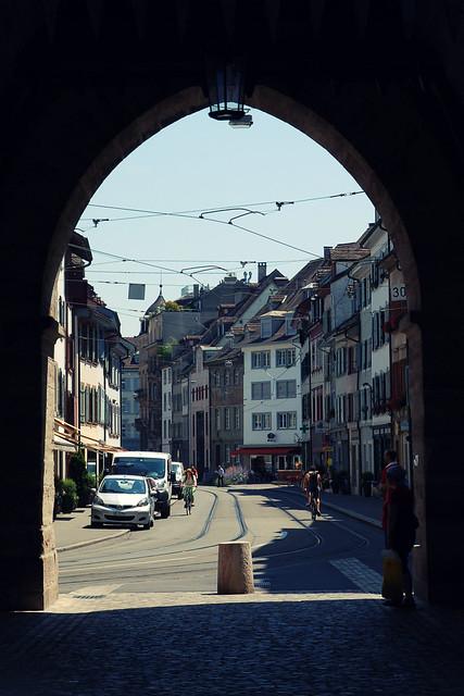 Spalentor, Basel, CH