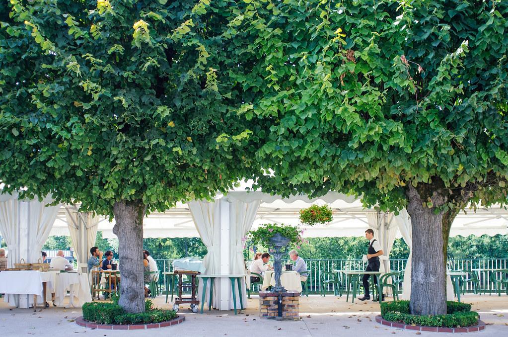 Balade gastronomique dans l'Yonne - La terrasse des tilleuls