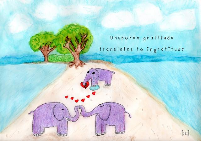 Translating Gratitude