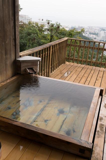 南山荘 紫乃、部屋付き露天風呂