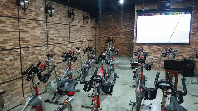 Saddle Row Indoor Cycling and Rowing Studio