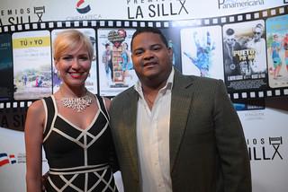 Yennifer Pimentel y Oscar Carrasquillo. Premios La Silla.