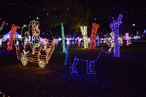 Rhema Bible College Christmas Lights