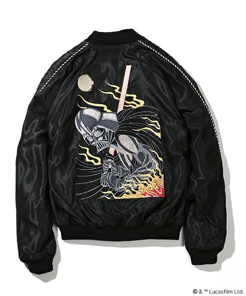 TAILOR TOYO × BEAMS 黑武士刺繡外套
