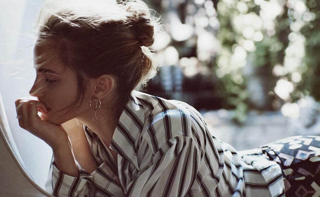 Эмма Уотсон — Фотосессия для «Porter» 2015 – 8