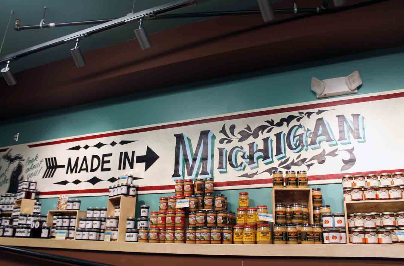 Wading in Big Shoes: 8 Places To Find Unique Michigan Gifts In Metro Detroit