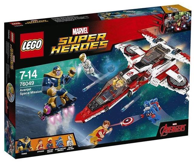 LEGO® 76048 76049【鋼鐵紅骷髏海底攻擊組 vs. 復仇者太空任務組】2016 MARVEL SUPER HEROES Set