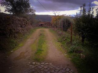 Walking Trail near Rio Zezere