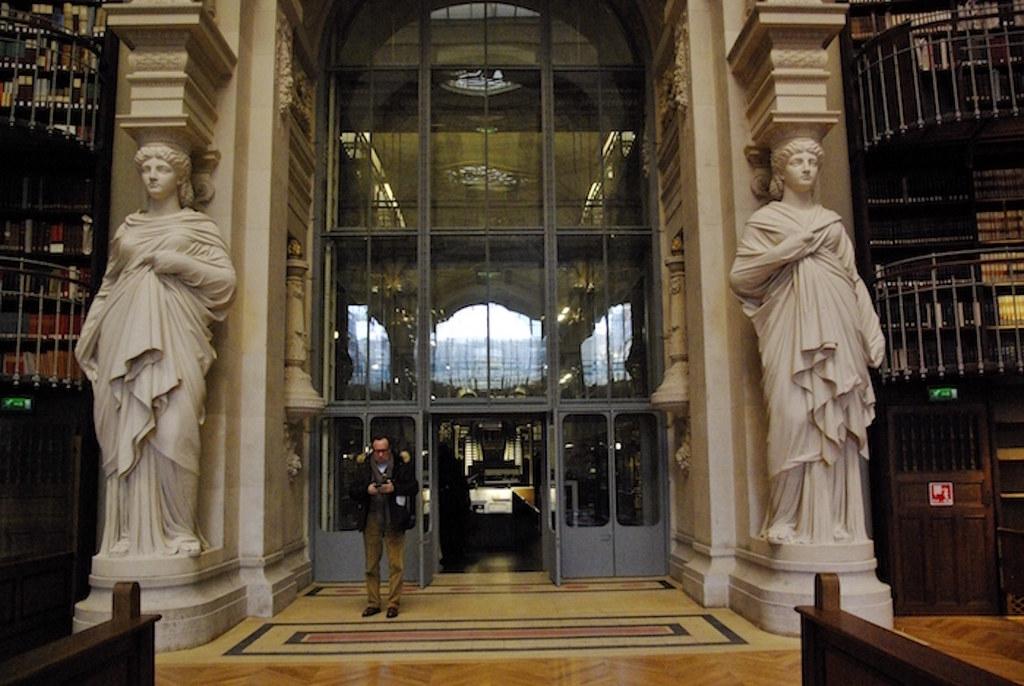 Salle Labrouste INHA