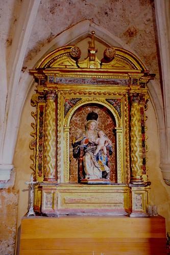Abajas (Burgos). Iglesia de Nuestra Señora. Retablo