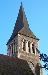 SUTTON, Surrey, Greater London - St Nicholas church spire