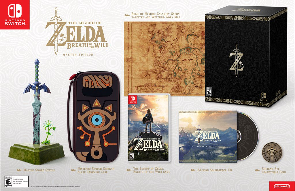 The Legend of Zelda: Breath of the Wild - De Luxe Edition