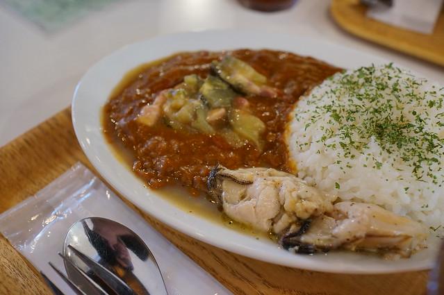 宮島産牡蠣カレー