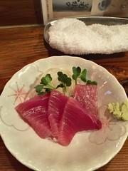 Maguro sashimi at Tachinomi Kidufuji 2, Ogikubo