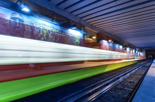 Speed - Copilco metro station, Mexico City