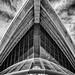 Concrete and glass