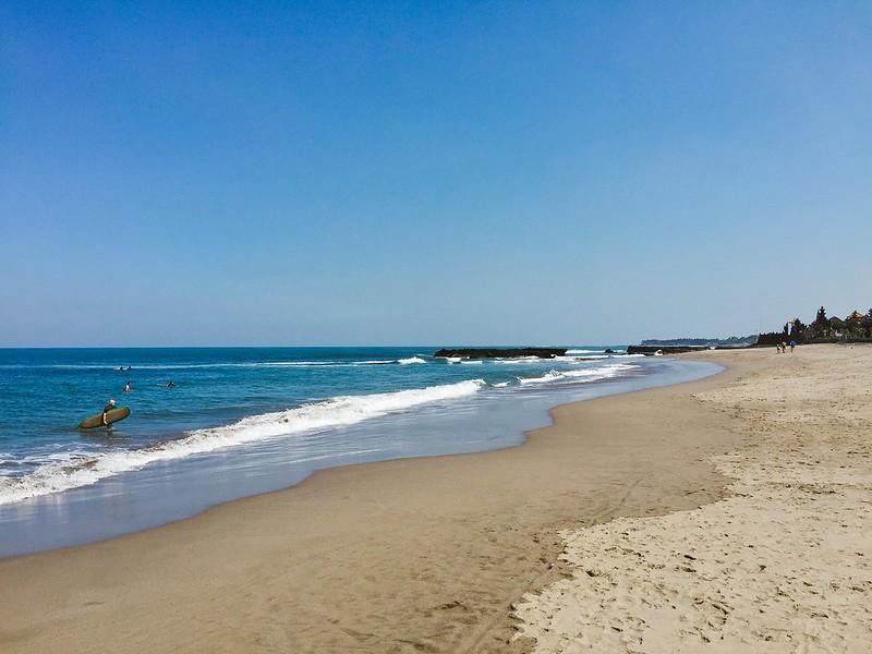 Surf in Seminyak's beaches