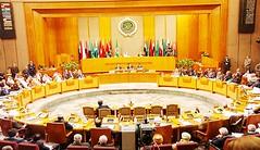 دعوات من الجامعة العربية فيما يتعلق بدعم ليبيا ضد الارهاب.