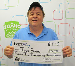 James Spring - $22,202 Idaho Jackpot