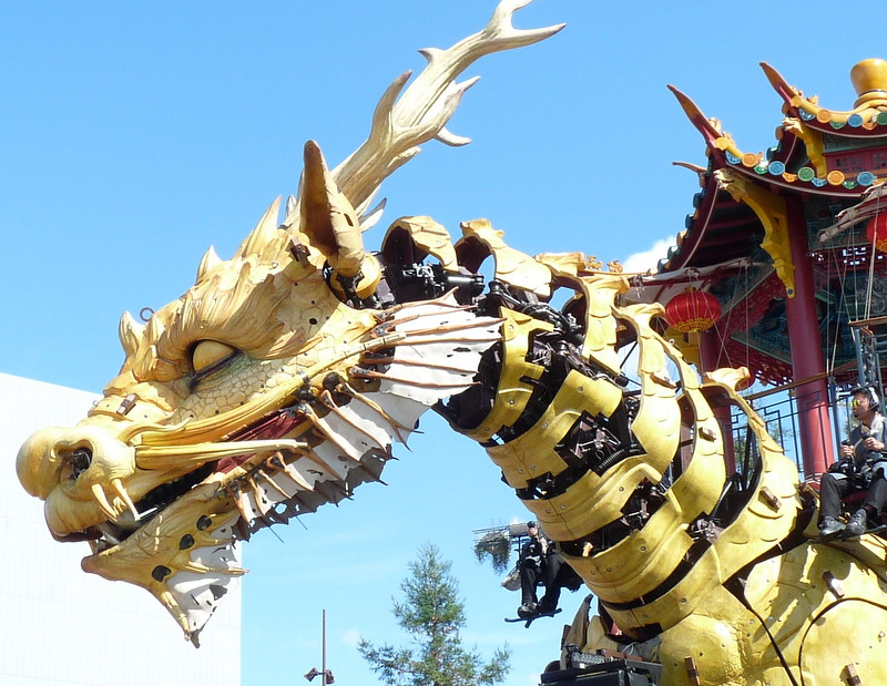 Le cheval dragon de Nantes