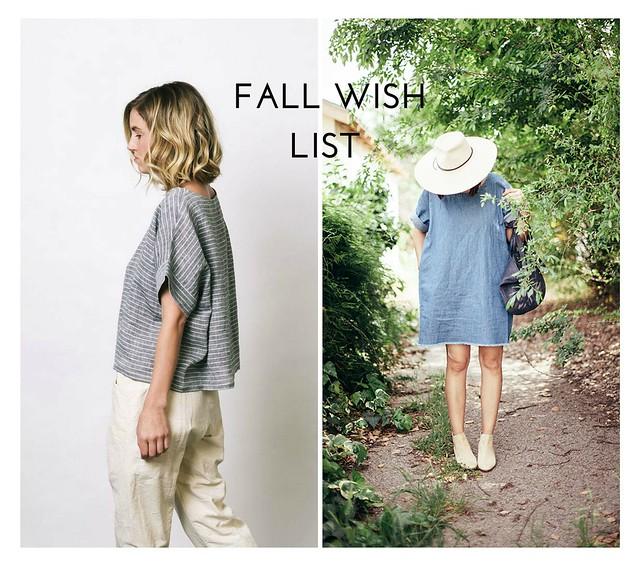 Fall Wish List