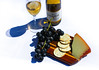 Relaxing with Wine and Cheese by Nick Mansour