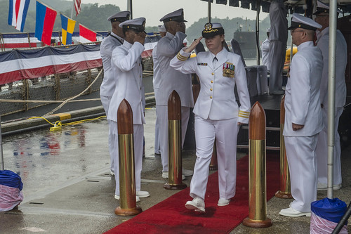 USS Curtis Wilbur Changes Command