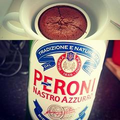 Pudding nailed #chocolate #caramel #pudding #peroni