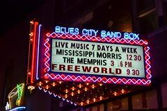 Blues City Band Box Memphis TN