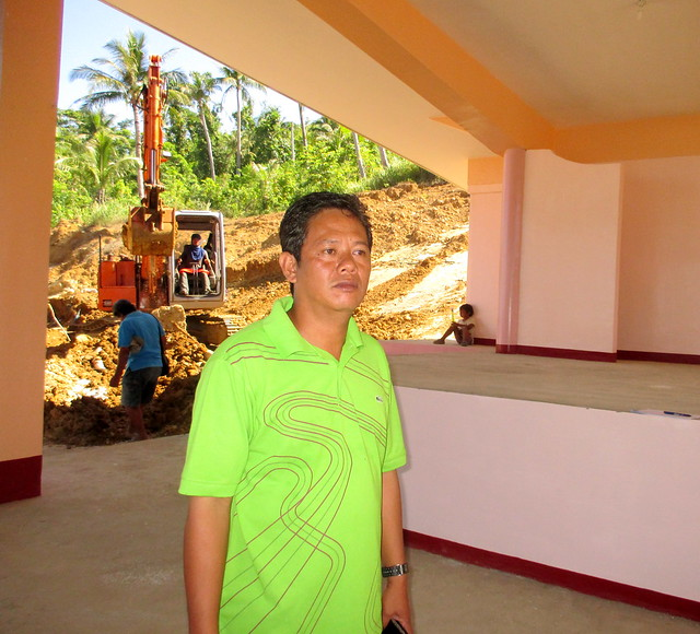 Marabut Municipal Engineer Aladin C. Advincula