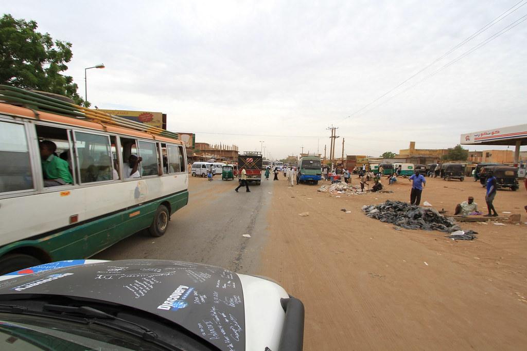 traffic in africa