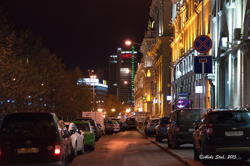 Вечерний город 08