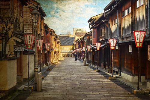 street travel sky japan sunrise vintage paper kanazawa blending chubu travelphotography