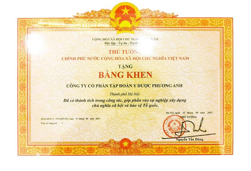 bang khen cua thu tuong 2015