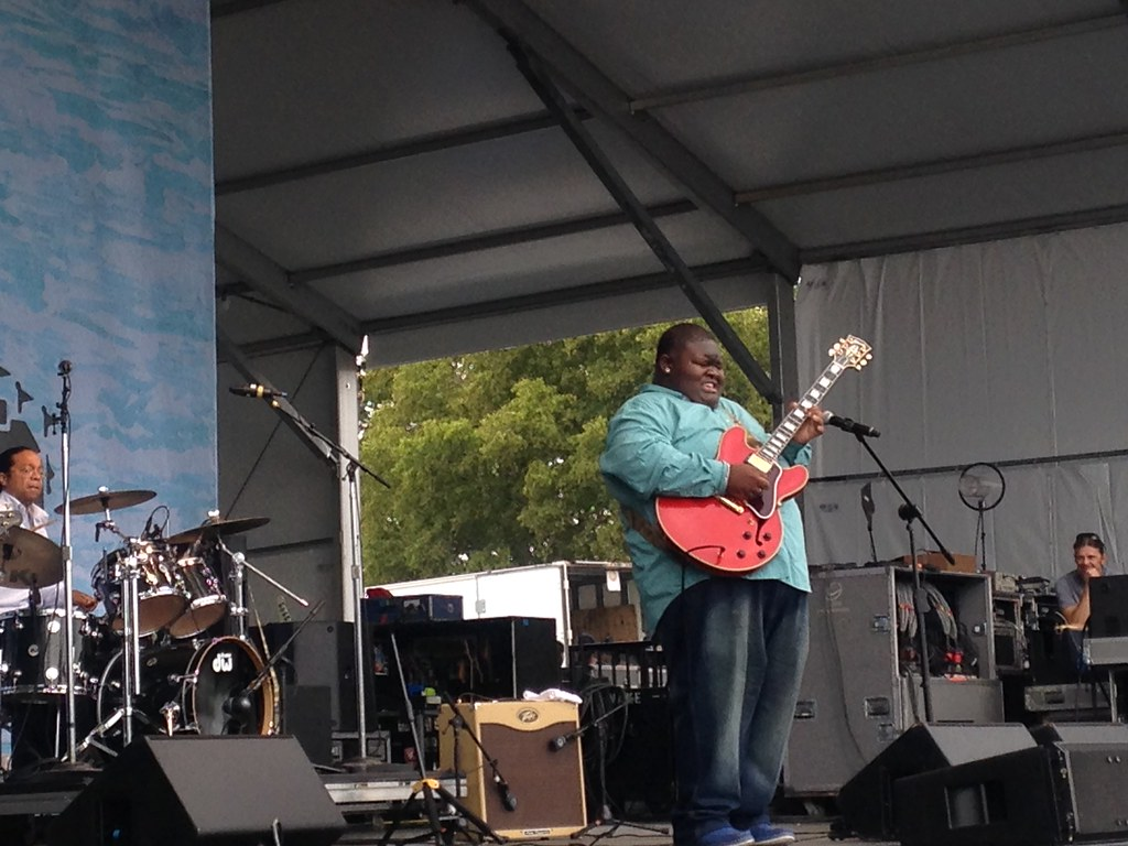 Christone Kingfish Ingram at Pilgrimage Fest 2015